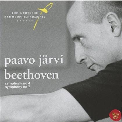 Ludwig van Beethoven (1770-1827), Paavo Järvi & Deutsche Kammerphilharmonie Bremen - Symphonies Nos. 4 & 7