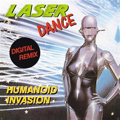 """Laserdance - Humanoid Invasion (12"""" Maxi)"""