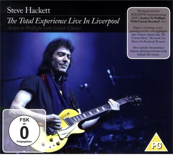 Steve Hackett - Total Experience Live In Liverpool (2 CDs + 2 DVDs)