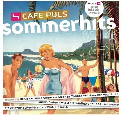 Cafe Puls Sommerhits - Various 2016 (2 CDs)