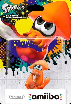 amiibo Splatoon Inkling Tintenfisch (Orange)