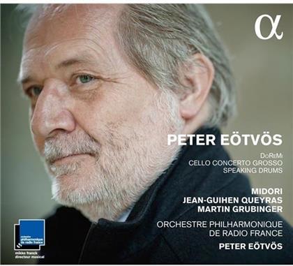 Peter Eötvös (*1944), Midori & Orchestre Philharmonique de Radio France - Doremi - Cello Concerto Grosso - Speaking Drums