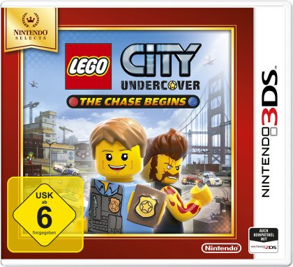 LEGO City Undercover : The Chase Begins - Nintendo Selects