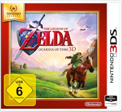 The Legend of Zelda: Ocarina of Time 3D Selects