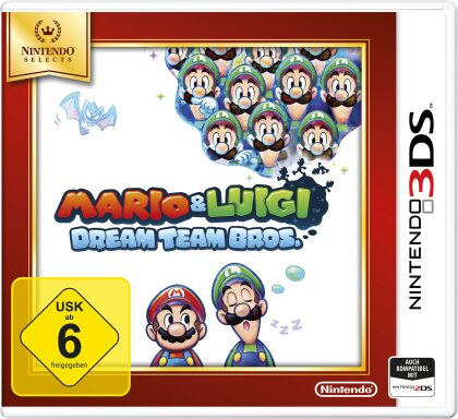 Mario and Luigi: DreamTeam Selects