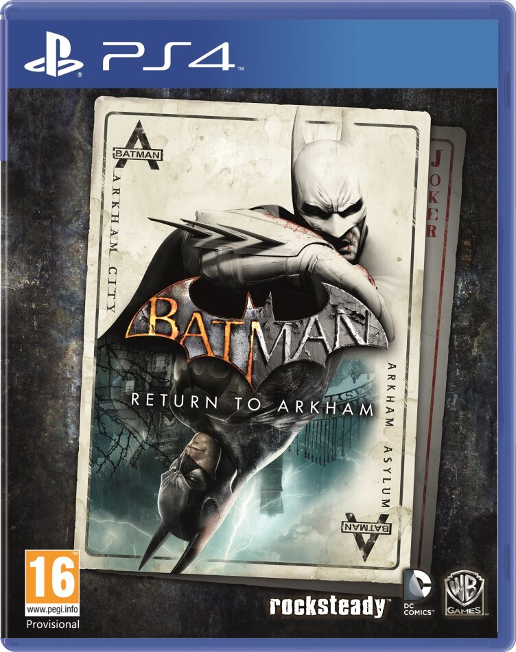 Batman HD Collection - Return To Arkham
