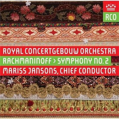 Sergej Rachmaninoff (1873-1943), Mariss Jansons & Royal Concertgebouw Orchestra - Symphony No.2 (Hybrid SACD)