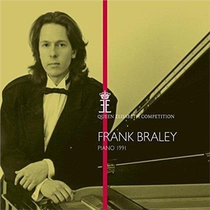 Frank Braley - Piano 1991 - Queen Elisabeth