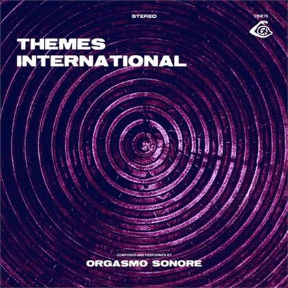 Orgasmo Sonore - Themes International (LP + CD)