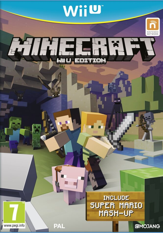 Minecraft Wii U Edition inkl. Super Mario Mash-Up
