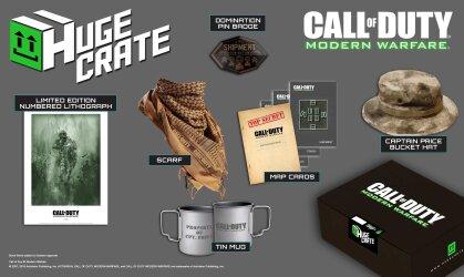Call Of Duty - Modern Warfare Huge Crate Box