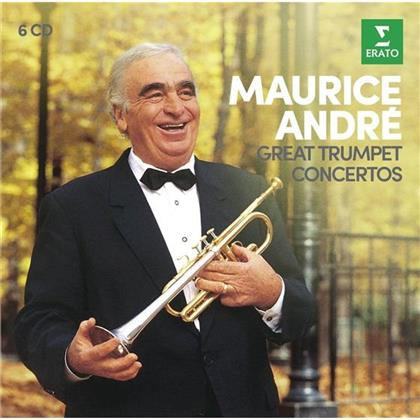 Maurice Andre - Große Trompetenkonzerte - Great Trumpet Concertos (6 CDs)