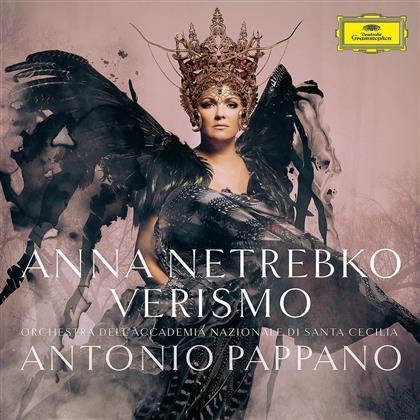 Anna Netrebko, Antonio Pappano & Orchestra dell'Accademia Nazionale di Santa Cecilia - Verismo (Deluxe Edition, CD + DVD)