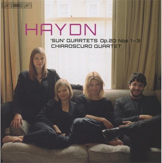 Chiaroscuro Quartet & Joseph Haydn (1732-1809) - Sun Quartets Op.20 Vol.1-3 (SACD)