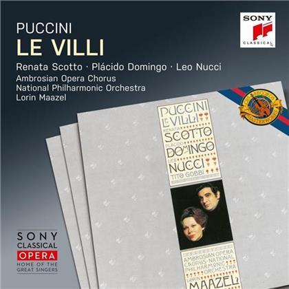 Renata Scotto, Placido Domingo, Leo Nucci, Giacomo Puccini (1858-1924), Lorin Maazel, … - Le Villi