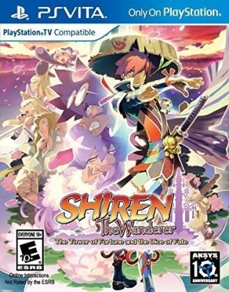 Shiren the Wanderer - The Tower of Fortune and the Dice Fate (US-Version)