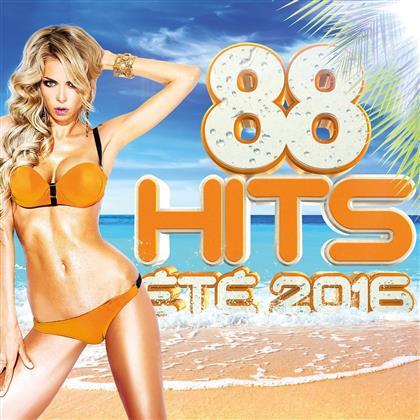 88 Hits Été 2016 (4 CDs)