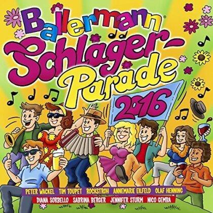 Ballermann Schlagerparade - Various 2016 (2 CDs)