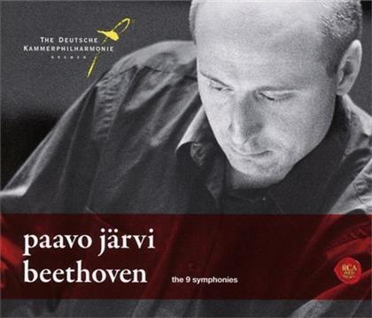 Ludwig van Beethoven (1770-1827), Paavo Järvi & Deutsche Kammerphilharmonie Bremen - Complete Symphonies (5 CDs)