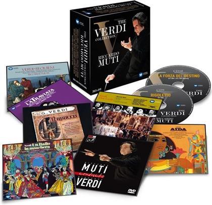 Giuseppe Verdi (1813-1901) & Riccardo Muti - The Verdi Collection (29 CDs)
