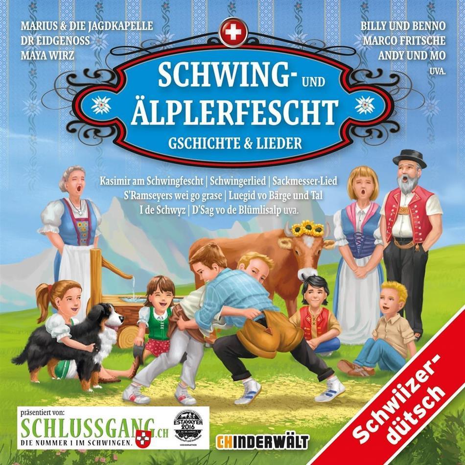 Schwing- Und Älplerfescht - Various - Schweizerdeutsch (2 CDs)