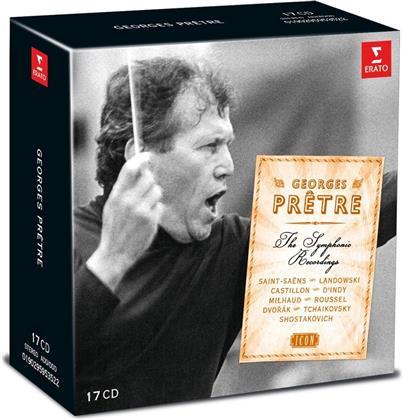 Georges Prêtre, Orchestre Philharmonique De Monte-Carlo & Wiener Symphoniker - Icon:Georges Pretre (17 CDs)