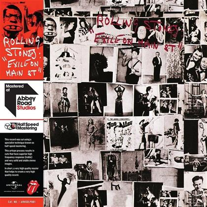 The Rolling Stones - Exile On Main Street - Limited Edition/Half Speed Mastering (2 LPs)