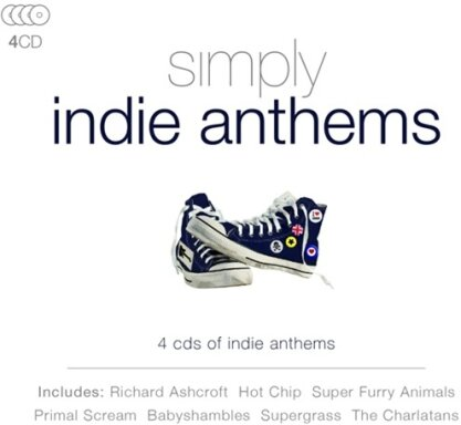 Simply Indie Anthems (4 CDs)