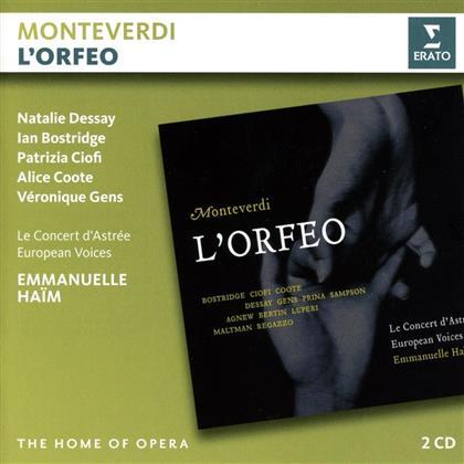 Emmanuelle Haim, Natalie Dessay & Ian Bostridge - L'orfeo (2 CDs)