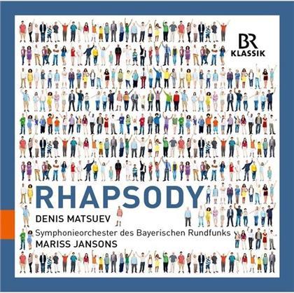 Alexis Emanuel Chabrier (1841-1894), George Gershwin (1898-1937), George Enescu (1881-1955), Maurice Ravel (1875-1937), Franz Liszt (1811-1886), … - Rhapsody