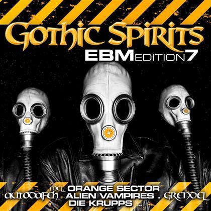 Gothic Spirits Ebm Edition - Various 7 (2 CDs)