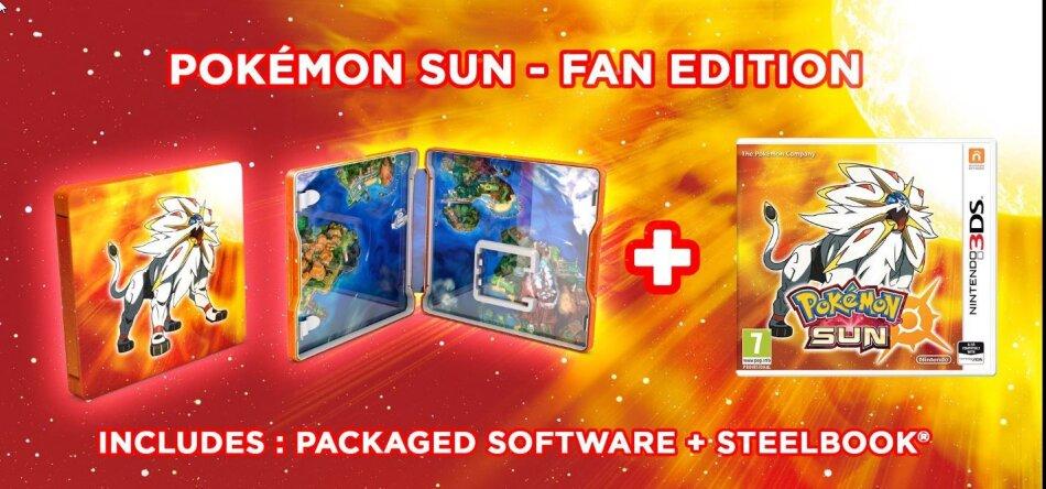 Pokemon Soleil (Steelbook Edition)