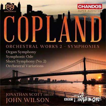 John Wilson & Aaron Copland (1900-1990) - Orch Works 2: Symphonies (SACD)