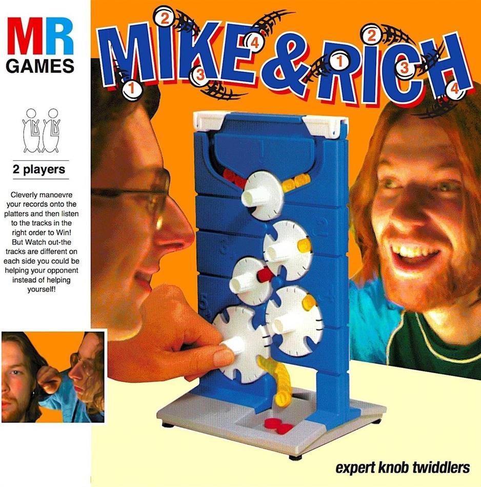 Aphex Twin & A-Ziq - Mike & Rich: Expert Knob (3 LPs)