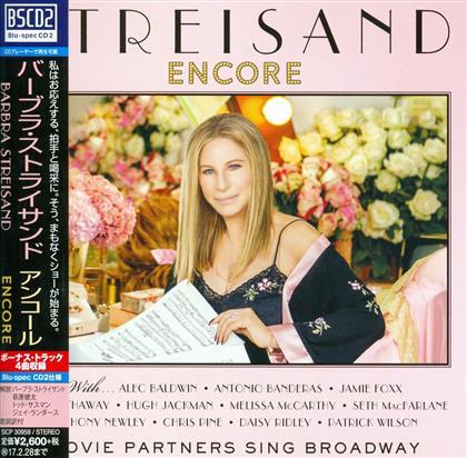 Barbra Streisand - Encore: Movie Partners Sing Broadway (Japan Edition)