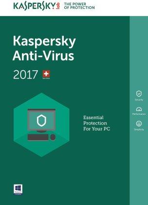 Kaspersky Antivirus 2017 1User