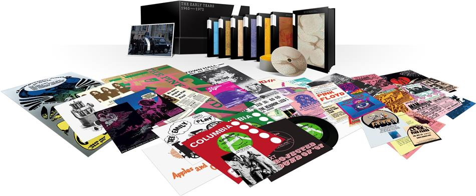 Pink Floyd - The Early Years 1965-1972 (10 CDs + 9 DVDs + 8 Blu-rays + 5 LPs)
