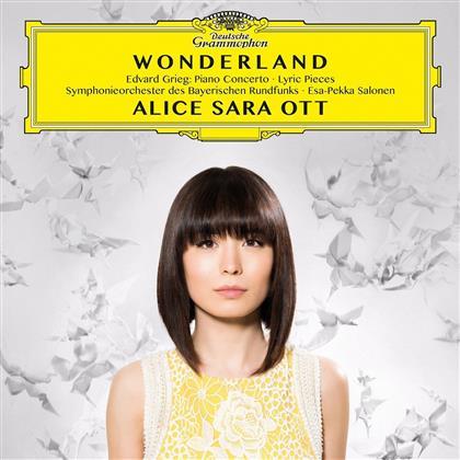 Alice Sara Ott, Esa-Pekka Salonen (*1958), Edvard Grieg (1843-1907) & Symphonieorchester des Bayerischen Rundfunks - Wonderland - Piano Concerto - Lyric Pieces
