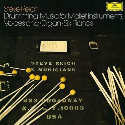 Steve Reich (*1936) & Steve Reich (*1936) - Drumming (Limited Edition, 3 LPs)