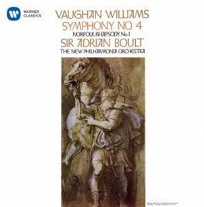 Sir Adrian Boult, Ralph Vaughan Williams (1872-1958) & New Philharmonia Orchestra - Symphony No. 4, Norfolk Rhapsody No. 1