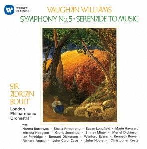 Sir Adrian Boult & Ralph Vaughan Williams (1872-1958) - Symphony No. 5, Serenade to Music