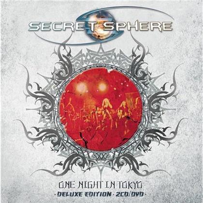 Secret Sphere - One Night In Tokyo (2 CDs + DVD)