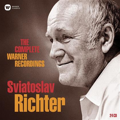 Sviatoslav Richter - The Complete Warner Recordings (Limited Edition, 24 CDs)