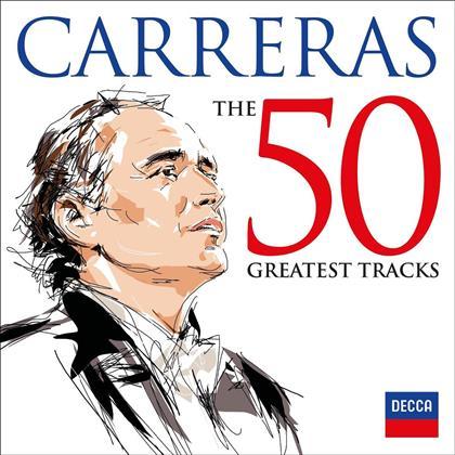 José Carreras - The 50 Greatest Tracks (2 CDs)