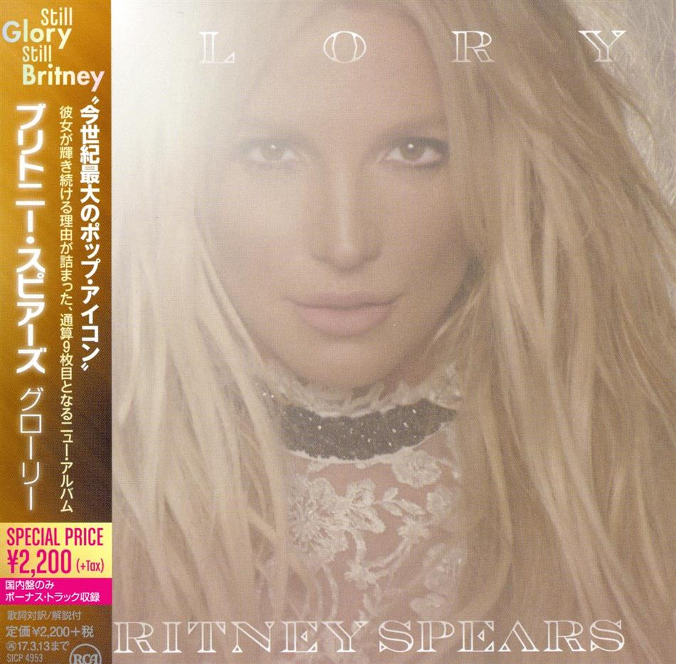 Britney Spears - Glory (Japan Edition)