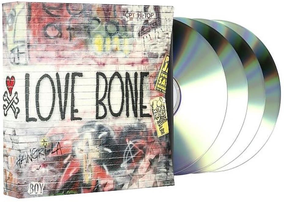 Mother Love Bone (Stone Gossard) - --- (Limited Edition, 3 CDs + DVD)