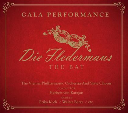 Herbert von Karajan & Wiener Philharmoniker - Die Fledermaus (3 CDs)
