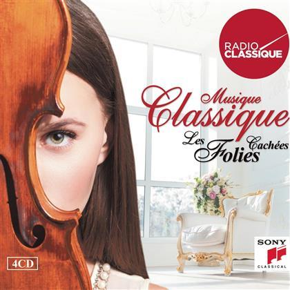 Musique Classique : Les Folies Cachées - Diverse (4 CDs)