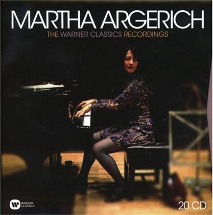 Martha Argerich - The Warner Classics Recordings (20 CDs)