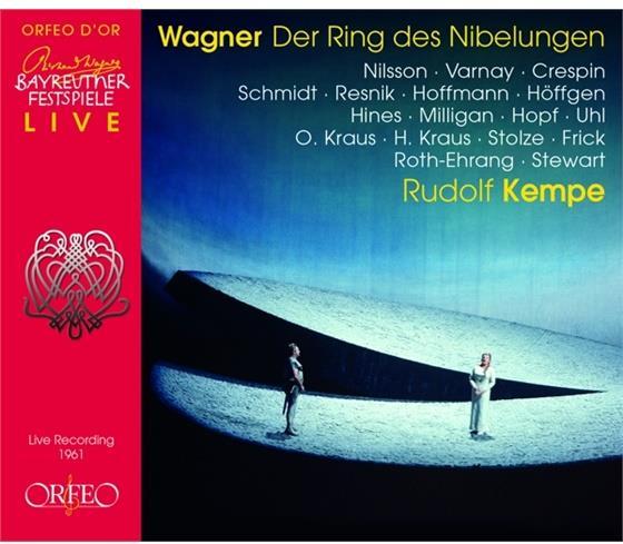 Jerome Hines, Thomas Stewart (Bariton), David Thaw, Gerard Stolze, David Ward, … - Ring Des Nibelungen - Bayreuth 1961 (13 CDs)